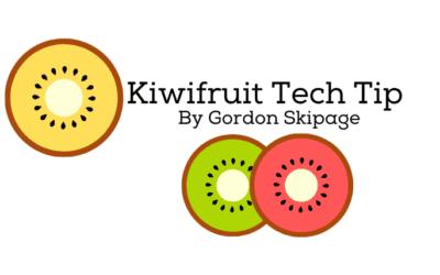 Kiwifruit Tech Tip Week 40